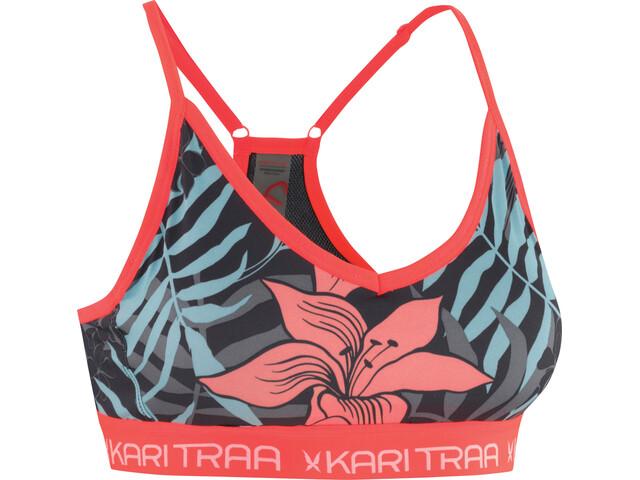 Kari Traa VAR Sports-BH Damer rød/farverig